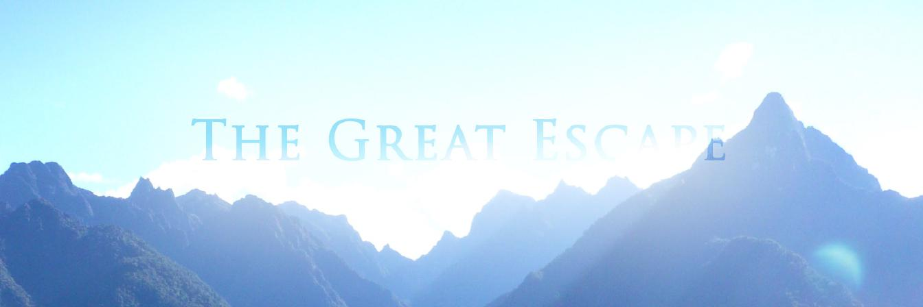 The Great Escape, banner